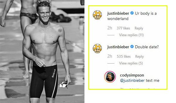 Justin Bieber rủ Cody đưa bạn gái mới đi chơi với vợ chồng anh.
