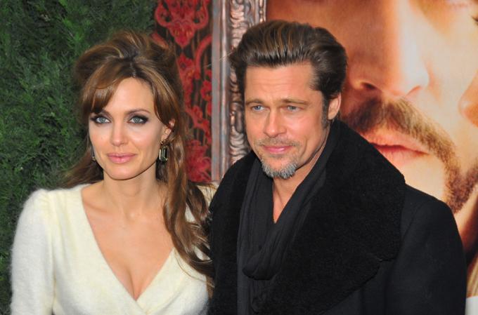 Angelina Jolie và Brad Pitt năm 2010. Ảnh: Shutterstock.