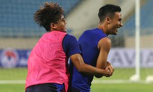 Tuyển Malaysia chơi 'đuổi bắt' trước trận gặp Việt Nam