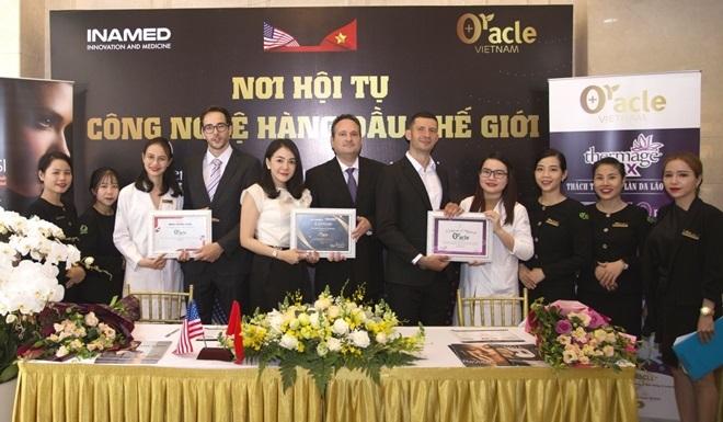 Sau 2 năm hoạt động, Oracle Vietnam đã đầu tư gần 5 triệu USD cho thiết bị và công nghệ thẩm mỹ y khoa tại 4 chi nhánh.