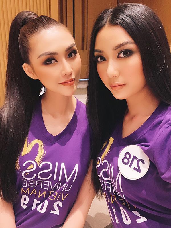 Thúy Vân và Tường Linh đều lànhững ứng cử viên sáng giá cho ngôi vị Hoa hậu Hoàn vũ Việt Nam năm nay. Hai người đẹp đều đã khẳng định mình ở nhiều đấu trường nhan sắc cả trong và ngoài nước.