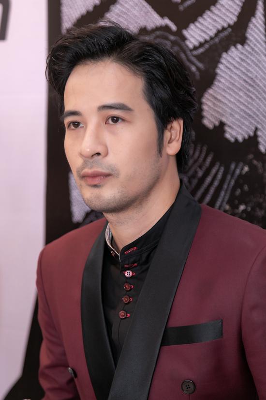 Diễn viên, người mẫu Đoàn Thanh Tài cũng góp mặt tại sự kiện với vai trò giám khảo.