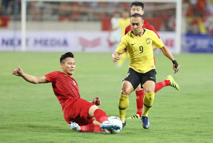 Các cầu thủ Malaysia bị tâm lý
