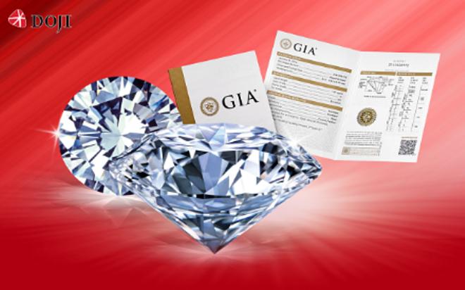 Thời gian này, khách hàng mua kim cương nhận mức tiền mặt tới 500.000.000 đồng từ DOJI.