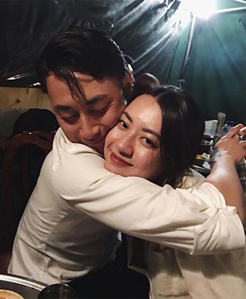 Rocker Nguyễn thường xuyên đăng ảnh thân mật bên bạn gái Hải Hà kể từ sau khi công khai mối quan hệ.