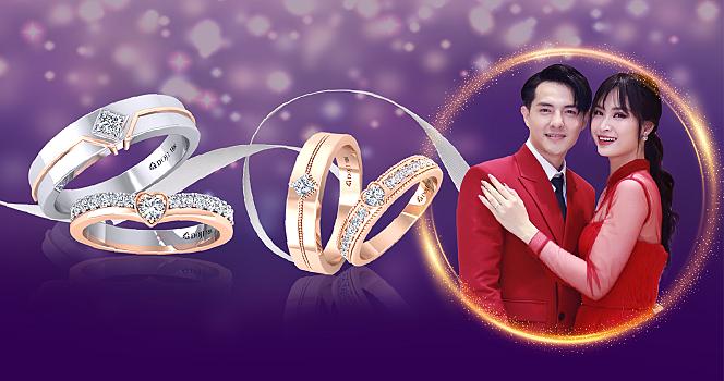 DOJI khuyến mại 100 cặp nhẫn cưới giá 4.999.999 đồng - 2