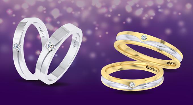 DOJI khuyến mại 100 cặp nhẫn cưới giá 4.999.999 đồng - 3