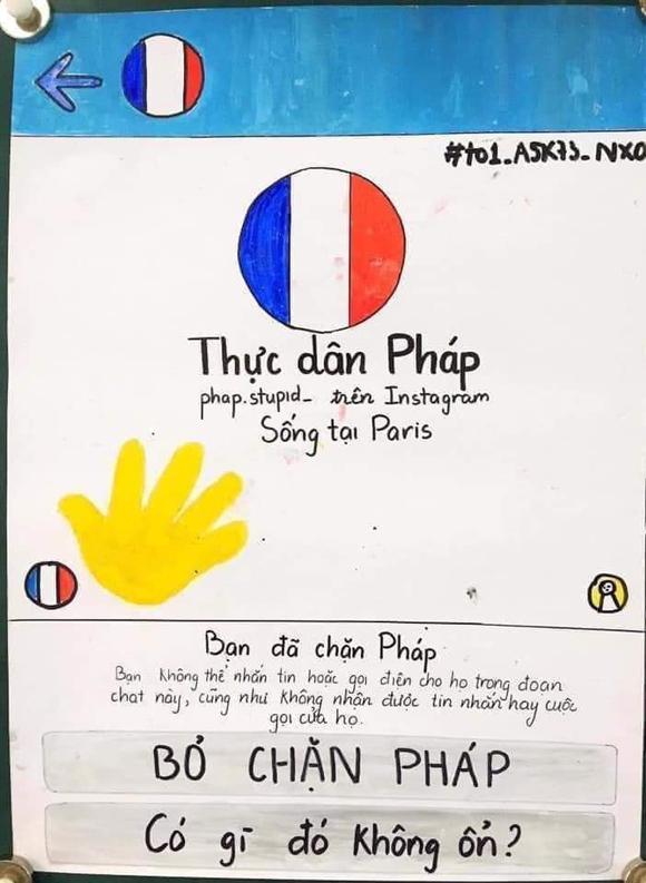 Nhóm học sinh lớp 11 vẽ Facebook Nguyễn Đình Chiểu - 1