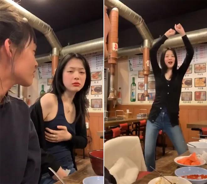 Nữ ca sĩ trong lần livestream hồi tháng 4/2019.