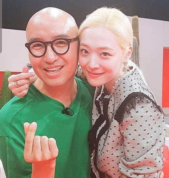 Hong Suk Chun muốn ghi nhơ shinfh ảnh đẹp đẽ của Sulli.