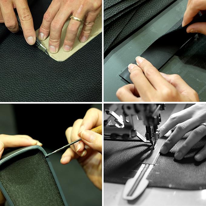 Một số công đoạn trong xưởng sản xuất của MINK. Xem thêm các mẫu tại đâyhoặc Fanpage MINK Leather