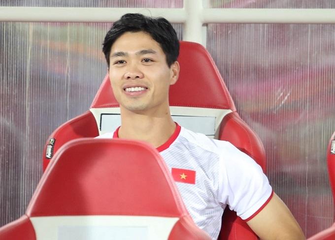 Công Phượng sẽ bay thẳng về Bỉ sau trận đấu với Indonesia. Ảnh: Đức Đồng.