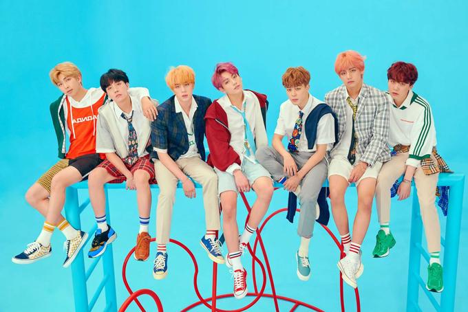 BTS - nhóm nhạc K-pop được yêu thích nhất hiện nay. Ảnh: Times.