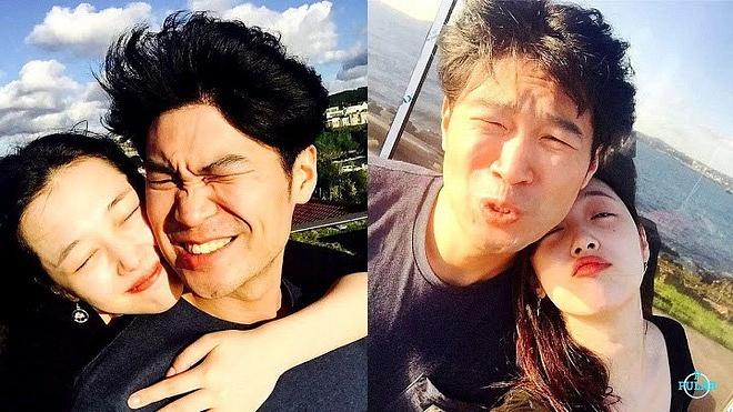 Sulli và Choiza khi còn yêu nhau.