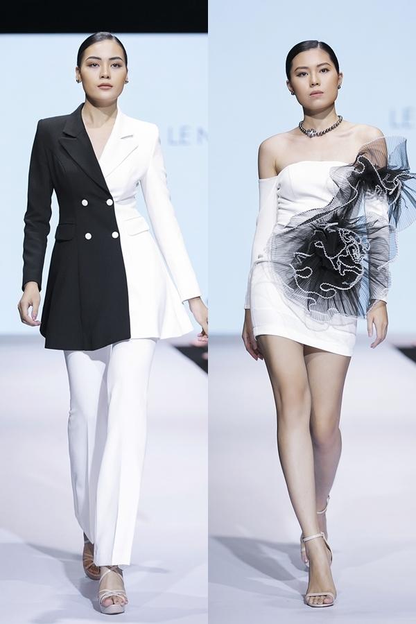 Kiểu dáng thiết kế đa dạng từ vest, váy