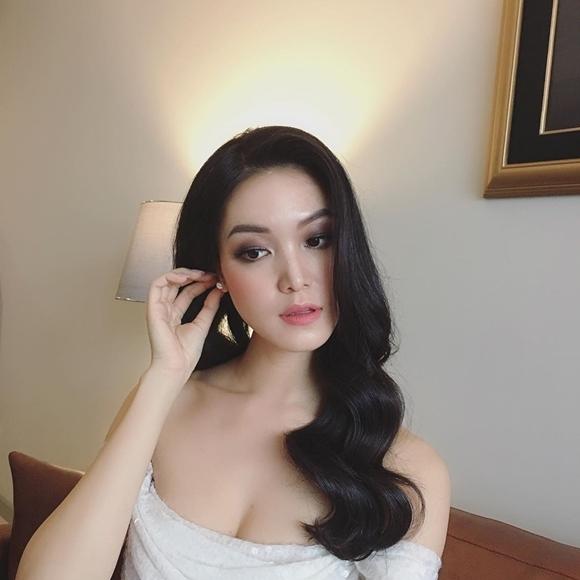 Nhan sắc của Thùy Dung mặn mà ở tuổi 28, hoàn thiện hơn sau ngày cô đăng quang ngôi vị cao nhất cuộc thi Hoa hậu Việt Nam 2008.