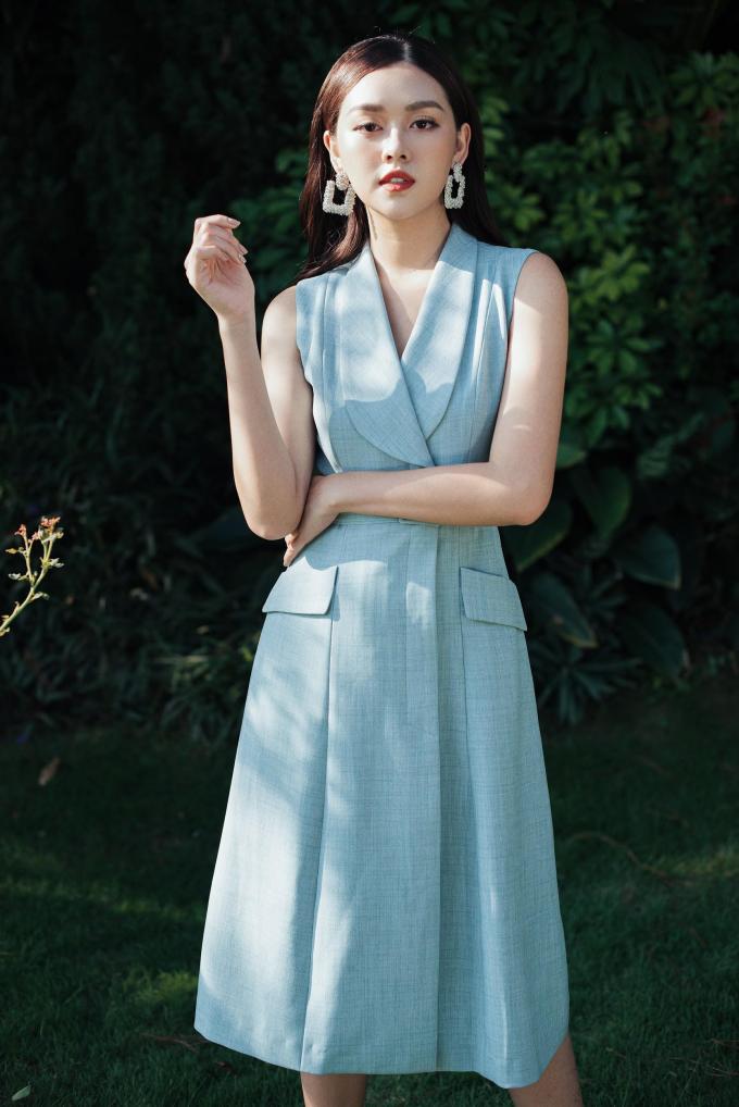 Á hậu Tường San với trang phục đậm chất nàng thơ cho ngày 20/10 (xin edit) - 3