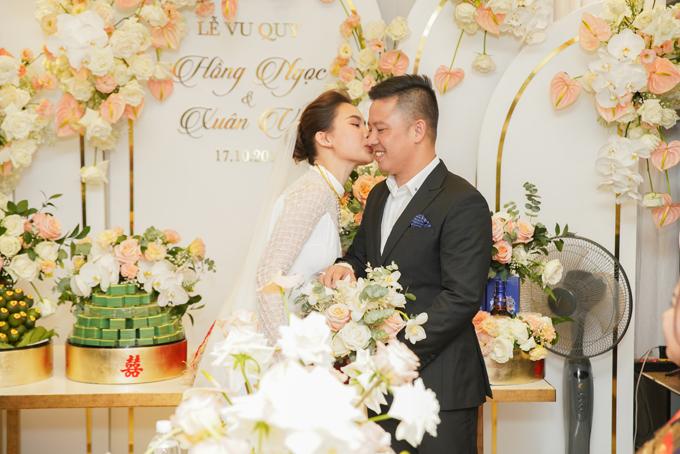 Sau lễ vu quy ngày 17/10, uyên ương sẽ tổ chức tiệc cưới ngày 15/11 ở TP HCM.
