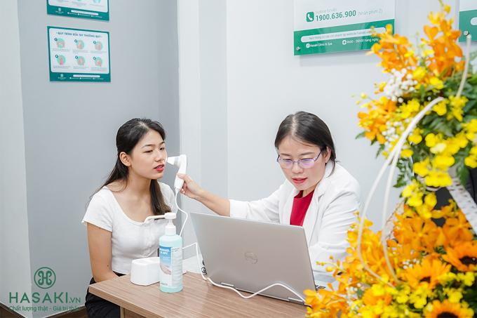 Chi nhánh thứ 6 cũng có dịch vụchăm sóc da riêng vớimáy móc hiện đại cùng đội ngũ bác sĩ chuyên môn cao.