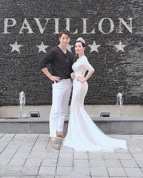 Tại cuộc thi Ngôi sao Beauty BJ quốc tế, Hoa hậu Vivian Trần đảm nhận vai tròPhó trưởng ban tổ chức kiêm trưởng ban giám khảonội dung thi. Cô cũng thay mặt ban tổ chức chào đón namdiễn viên điện ảnh Hàn Quốc - Park Yohan.