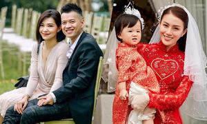 Những sao Việt có con rồi mới cưới