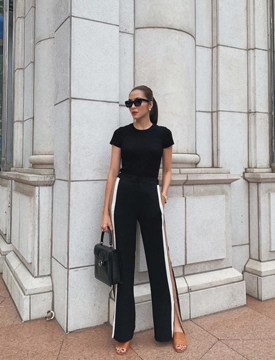 Cách mix đồ của Tăng Thanh Hà là gợi ý hợp lý cho các bạn gái công sở yêu phong cách hiện đại, thanh lịch khi đi làm.