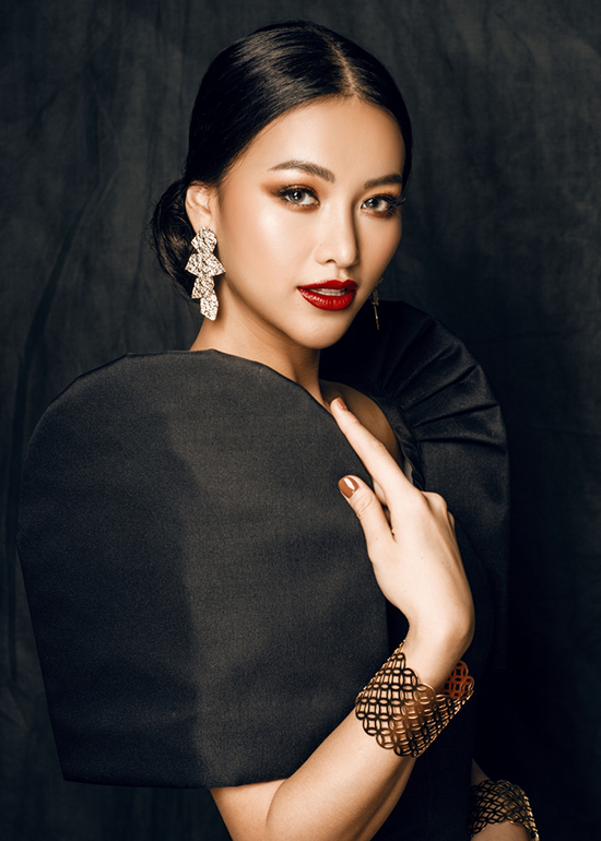 Phương Khánh làm nàng thơ của nhà mốt Philippines - 5