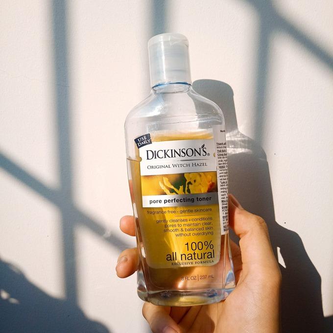 7 chai toner cấp ẩm cho da trong mùa hanh khô