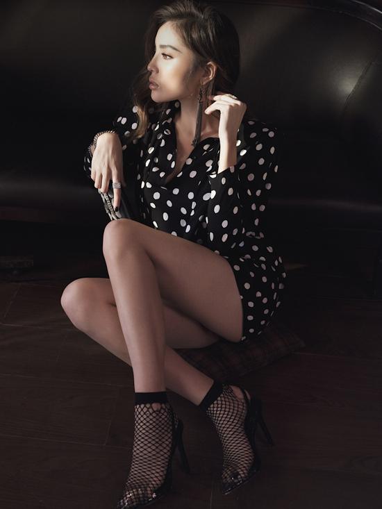 Sau Cuộc đua kỳ thú 2019, Kỳ Duyêngiảm đến 10kg, điều đó giúp cô tự tin hơn khi diện những trang phục sexy, ôm sát cơ thể.