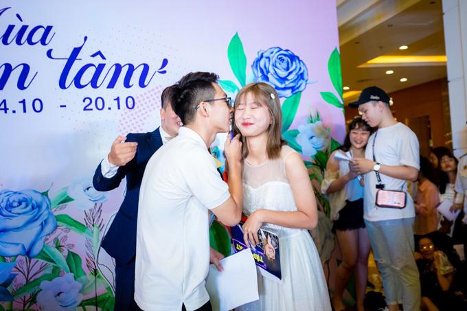 Các gameshow tại Vincom được nhiều cặp đôi hưởng ứng vì đây là cơ hội tạo ra những ký ức yêu thương cùng nhau của các bạn trẻ.