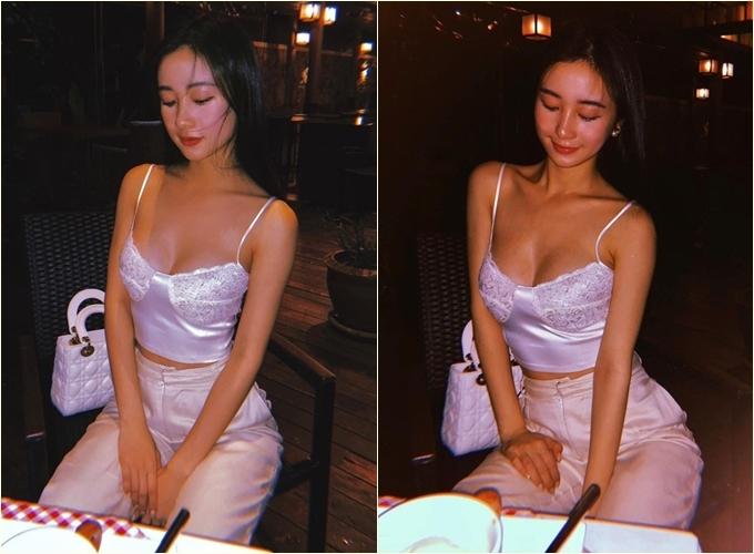 Bức ảnh khiến Jun Vũ bị nghi sửa mặt.