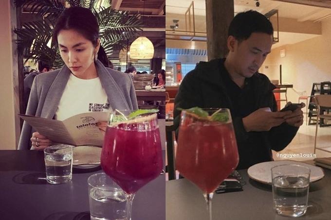 Tăng Thanh Hà - Louis Nguyễn tận hưởng bữa tối lãng mạn nhân ngày 20/10.