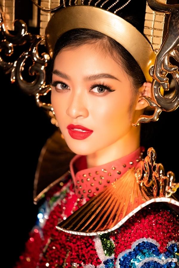 Phần thi trang phục truyền thống của Hoa hậu Hòa bình Quốc tế sẽ diễn ra tối 21/10 (giờ Hà Nội).