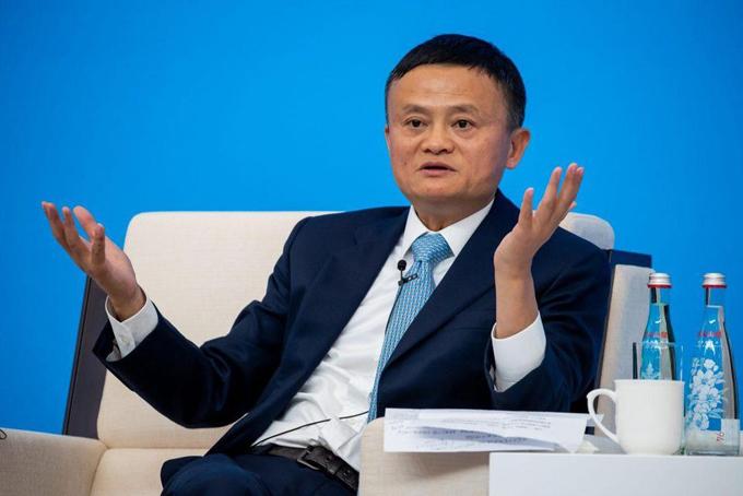 Jack Ma, nhà sáng lập tập đoàn Alibaba. Ảnh: CNBC.
