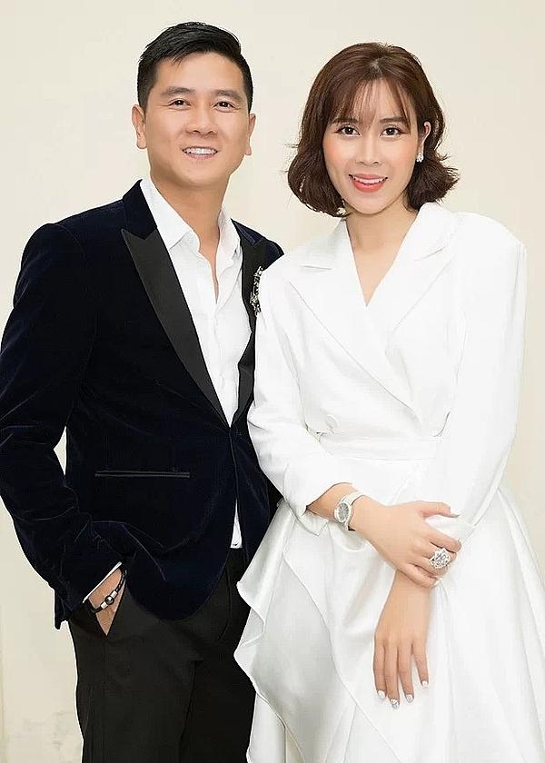 Vợ chồng Hồ Hoài Anh - Lưu Hương Giang.