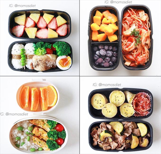 Cô gái trẻ luôn dành thời gian chuẩn bị sẵn các bữa trong ngày nhằm hạn chế tối đa ăn ngoài.
