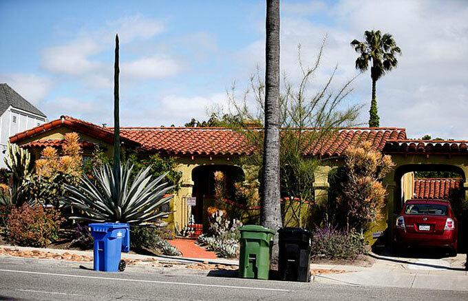 Ngôi nhà ở Los Angeles, bang California, Mỹ của bà Doria Ragland, mẹ Meghan. Ảnh: Tom Canham.