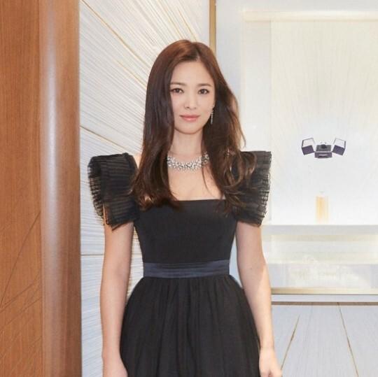 Song Hye Kyo tại sự kiện.