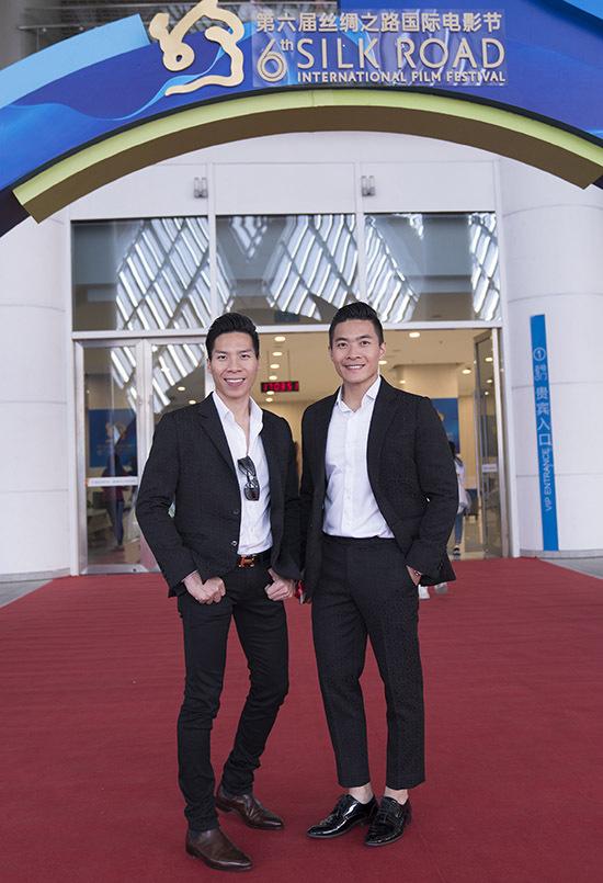 Quốc Cơ - Quốc Nghiệp là hai nghệ sĩ Việt Nam duy nhất dự sự kiện này.