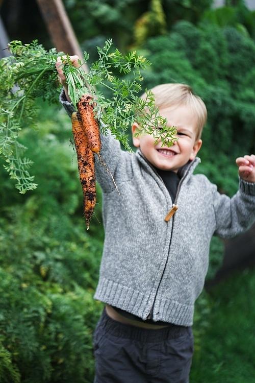 Nhìn biểu cảm kinh ngạc trên khuôn mặt con trai khi con thu hoạch hoặc chứng kiến quá trình hạt giống nảy mầm thành cây, rồi có thể ăn sau đó - với tôi là phần thưởng tốt nhất, Heidi nói.