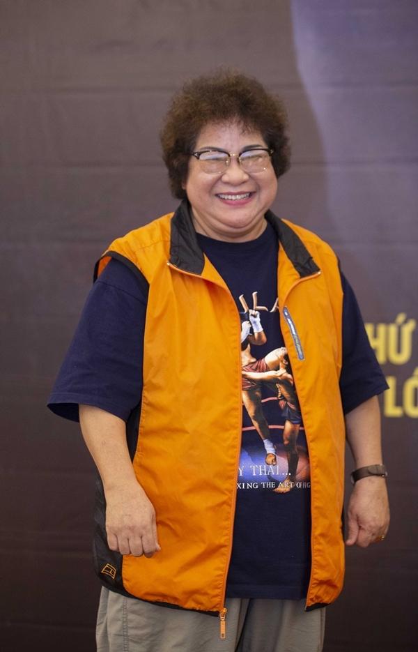 Nghệ sĩ Minh Vượng xuất hiện trong chuỗi sự kiện với vai trò đặc biệt. Chị là người dẫn dắt và kết nối