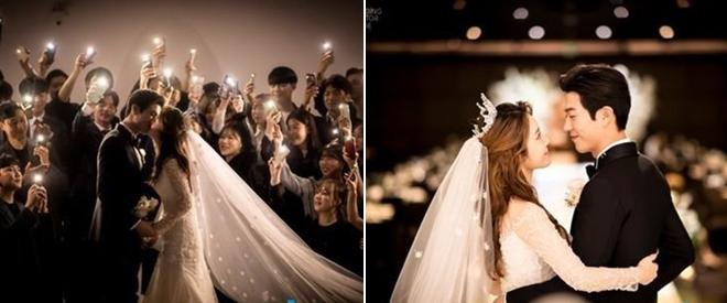 Những khoảnh khắc lãng mạn của đôi vợ chồng trẻ. Ahreum từng là thành viên nhóm T-ara, nhưng sau đó đã rút lui khỏi nhóm vào năm 2013.