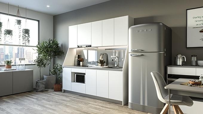 Phân biệt 5 loại tủ bếp phổ biến