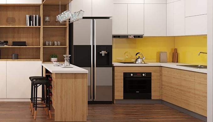 Phân biệt 5 loại tủ bếp phổ biến - 3