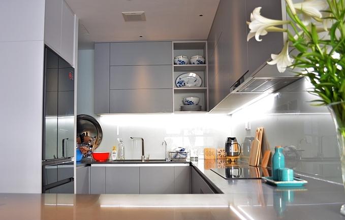 Phân biệt 5 loại tủ bếp phổ biến - 4