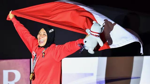 Aries Susanti Rahayu phá kỷ lục của chính đối thủ