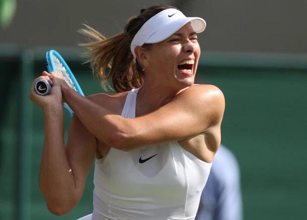 Sharapova thường xuyên la hét mỗi khi thi đấu