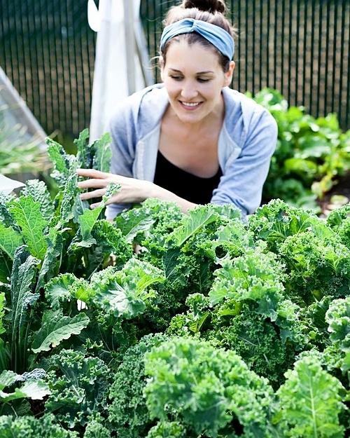 Khi trở thành mẹ, Heidi lại tận hưởng niềm vui với vườn tược theo một cách khác. Cô dạy con trai mình về cách làm ra thực phẩm như thế nào, những loại rau con có thể và không thể ăn...