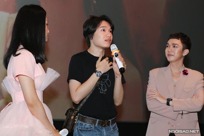 Diễn viên hài Quang Trung bày tỏ yêu thích lời ca khúc lẫn nội dung MV.