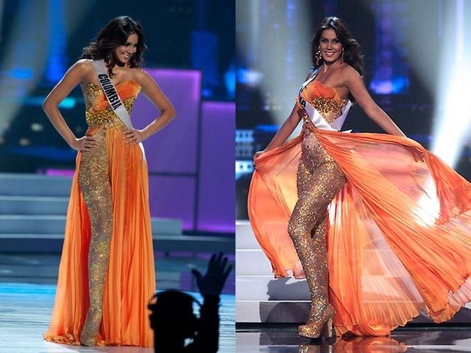 Tại Miss Universe 2011, Hoa hậu Colombia -
